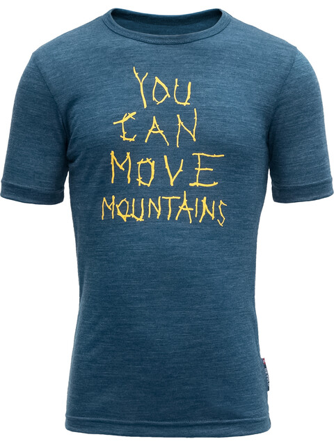 Devold Moving Mountain Tee Kids Subsea